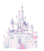 room mates disney princess glitter castle