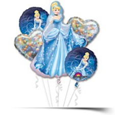 Cinderella Balloon Bouquet