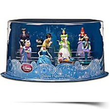 Cinderella Exclusive 10 Piece Pvc Deluxe