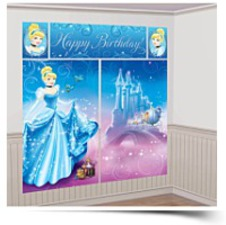 Cinderella Scene Setter Wall Decorating