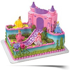 Disney Princess Castle Decoset