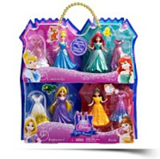 Disney Princess Magiclip 4PACK Giftset