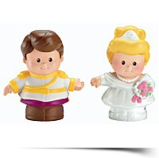 Little People Disney 2 Pack Cinderella