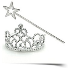 Princess Tiara And Wand Set