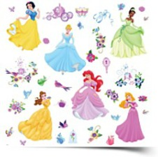 Room Mates RMK1470SCS Disney Princess
