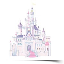 Room Mates RMK1546GM Disney Princess
