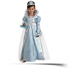 Rubies Blue Princess Costumesmall