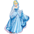 cinderella gown shape mylar balloon disney