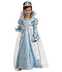 blue princess costume belle ball elegant