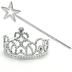 princess tiara wand party each includes