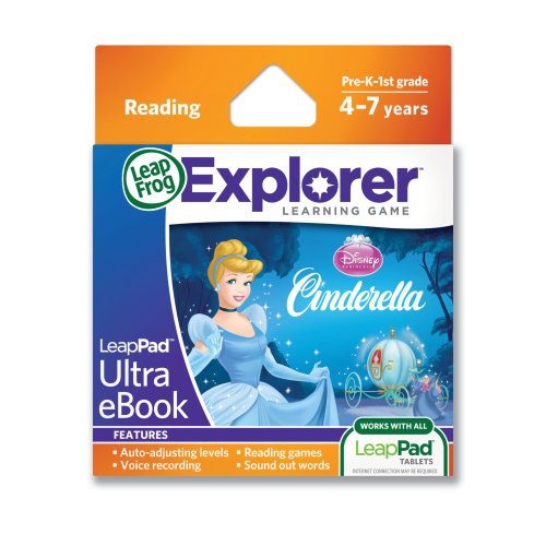 Leap Frog Leap Pad Ultra E Book Cinderella