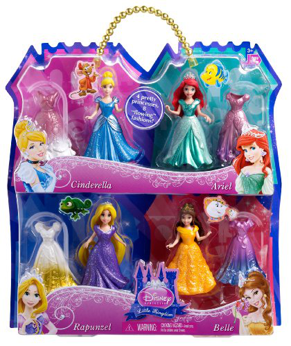 Disney Princess Magiclip 4-PACK Giftset
