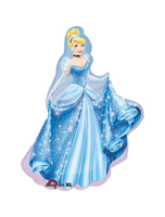 Cinderella Gown Shape 33 Mylar Balloon