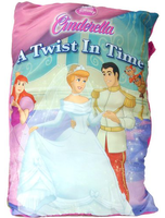 Cinderella Story Book Pillow W Musical