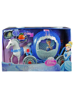Cinderella Transforming Carriage Doll