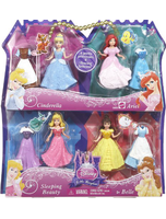 Disney Princess Favorite Moments 4PACK